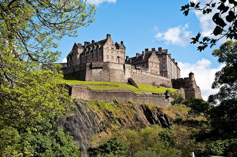 "Because when you live in Edinburgh, you lose all sense of perspective - ""Isn't it normal to have a gigantic 12th century castle in the middle of the city?"""