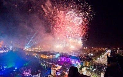 New Years' Eve in Edinburgh