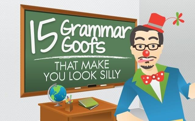 Lose these 15 common mistakes to improve your English and impress you native speaking friends.
