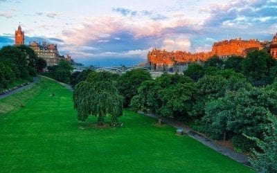 Edinburgh Voted 'Fourth Most Beautiful City in the World'