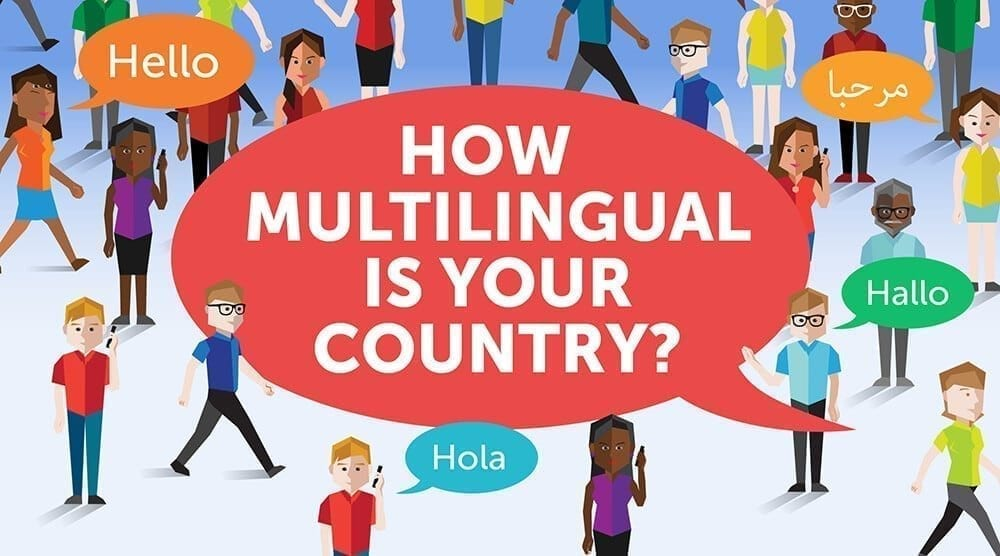 How multilingual is your country?