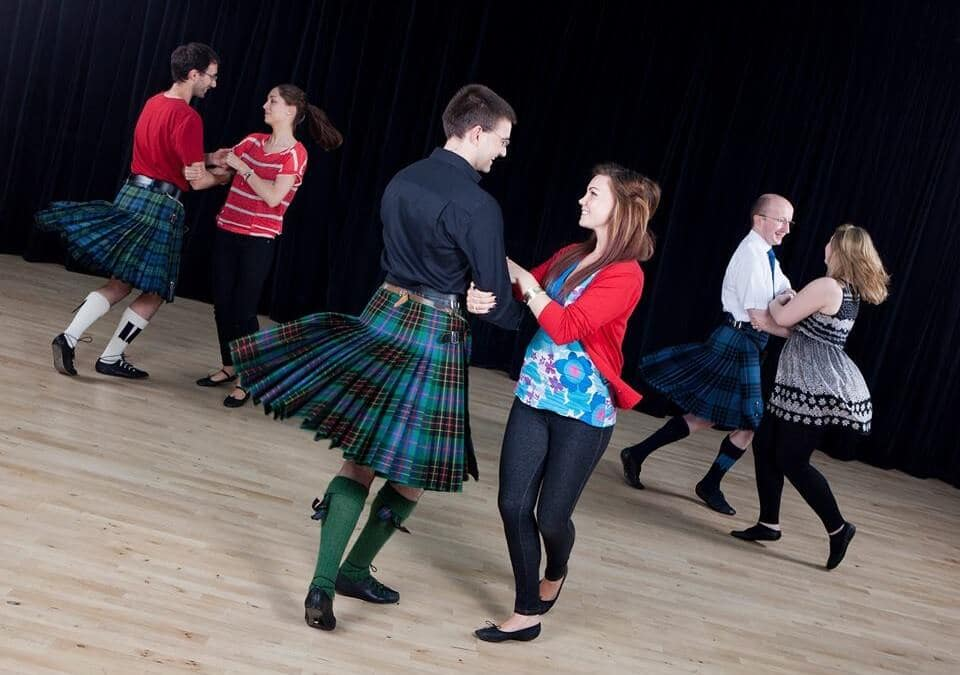 Ceilidh Dancing in Scotland