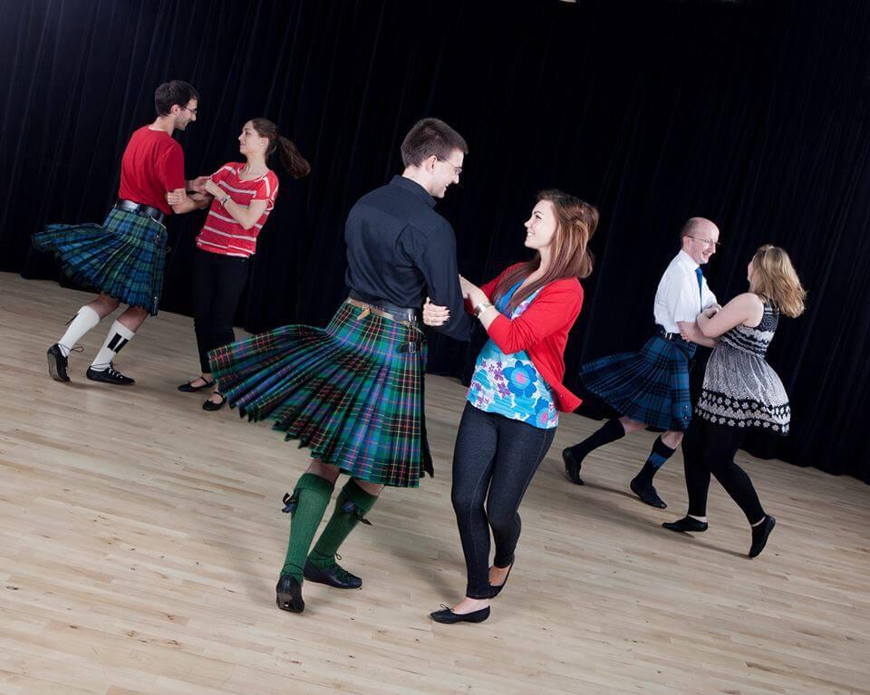 Ceilidh Dancing in Scotland