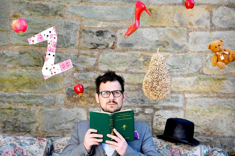 "FREE PIC- Edinburgh International Magic Festival Launch, 21/04/2015: Artistic director of the Edinburgh International Magic Festival Kevin McMahon launches the 2015 festival programme tomorrow (Wednesday 22nd April 2015), with an ""Awake and Wonder"" theme. Edinburgh International Magic Festival starts on 26th June - see: www.magicfest.co.uk More information from: Vicky Pitchers, VJP Media - 07973 304 286 - vicky@vjpmedia.com Photography from: Colin Hattersley Photography - colinhattersley@btinternet.com - www.colinhattersley.com - 07974 957 388"