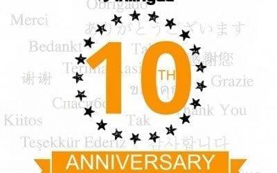 Celebrating 10 Years of inlingua Edinburgh!