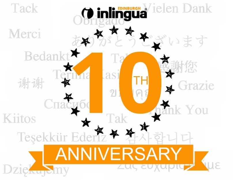 Celebrating 10 Years of inlingua Edinburgh!