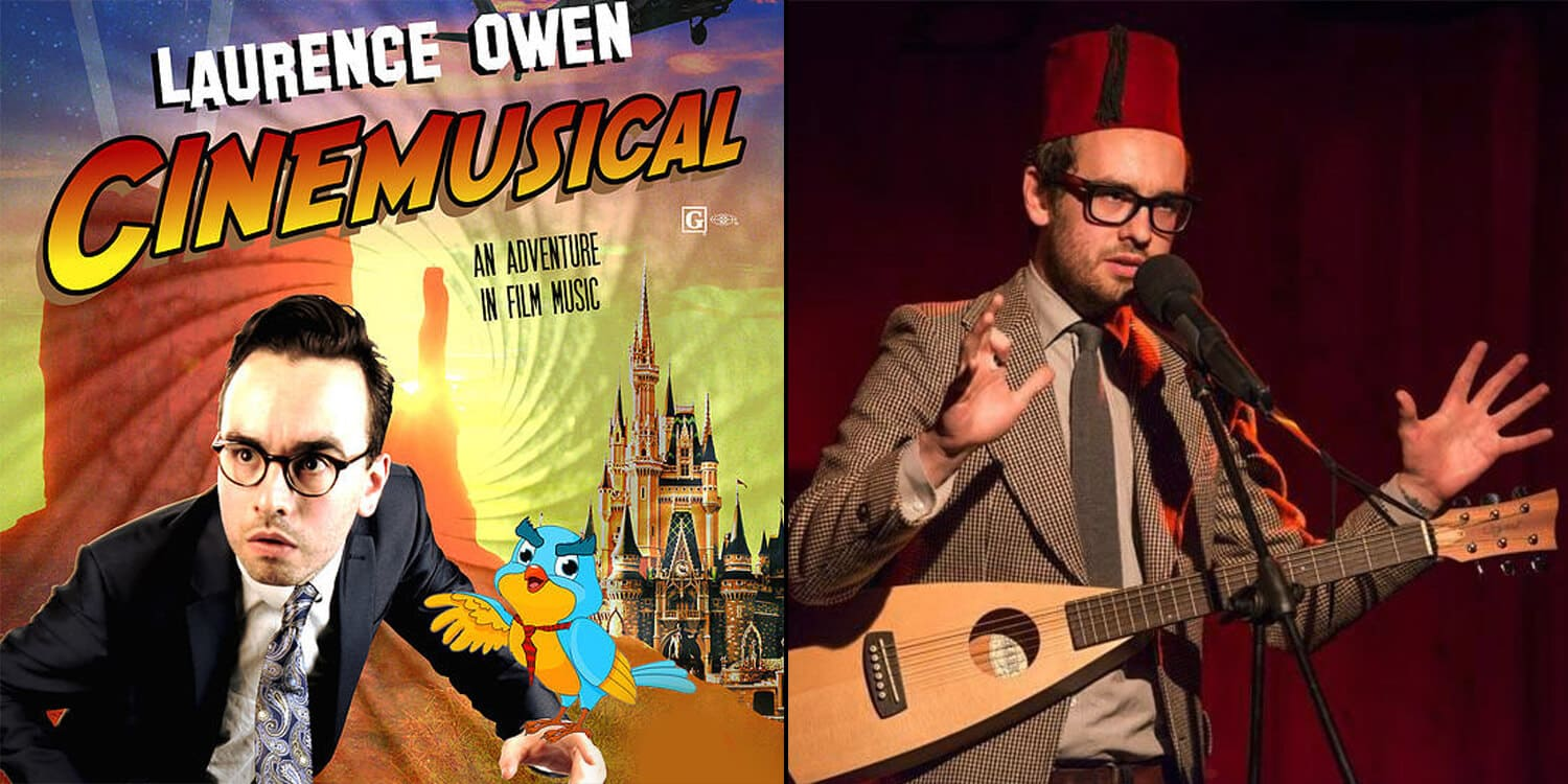 inlingua Edinburgh - blog post - Things to do in Edinburgh - Laurence Owen- Cinemusical  MUSICAL THEATRE - Free Fringe Festival Edinburgh - PBH Free Fring 2015
