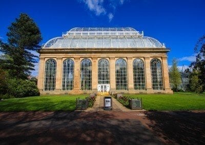 Palm House in the Royal Botanic Gardens, Edinburgh by glynniqua on flickr