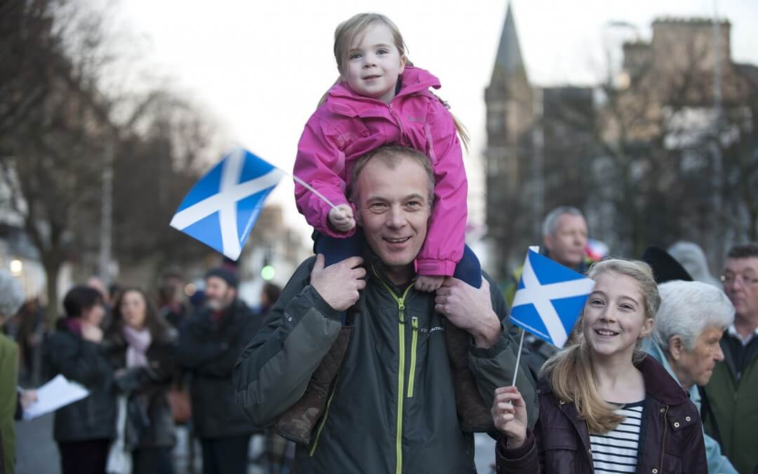 Celebrate St. Andrew's Day (Scotland's official national day) tonight!
