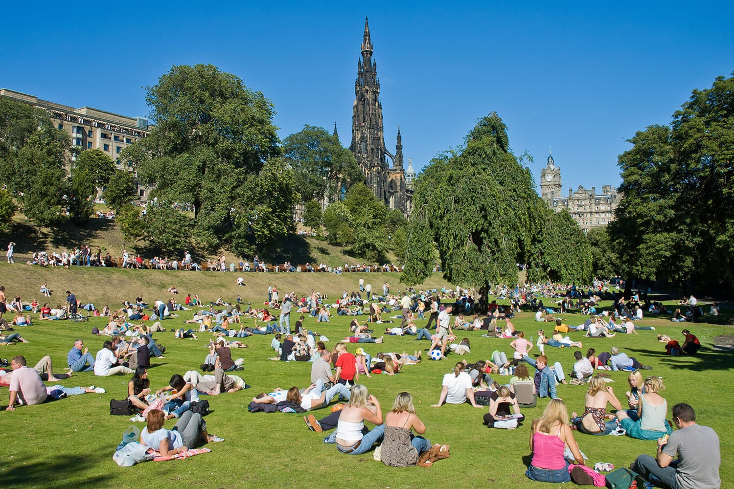 Edinburgh has been ranked second in the world for quality of life!