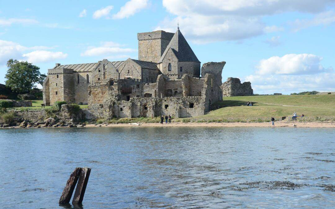 Inchcolm Island in the Firth of Forth