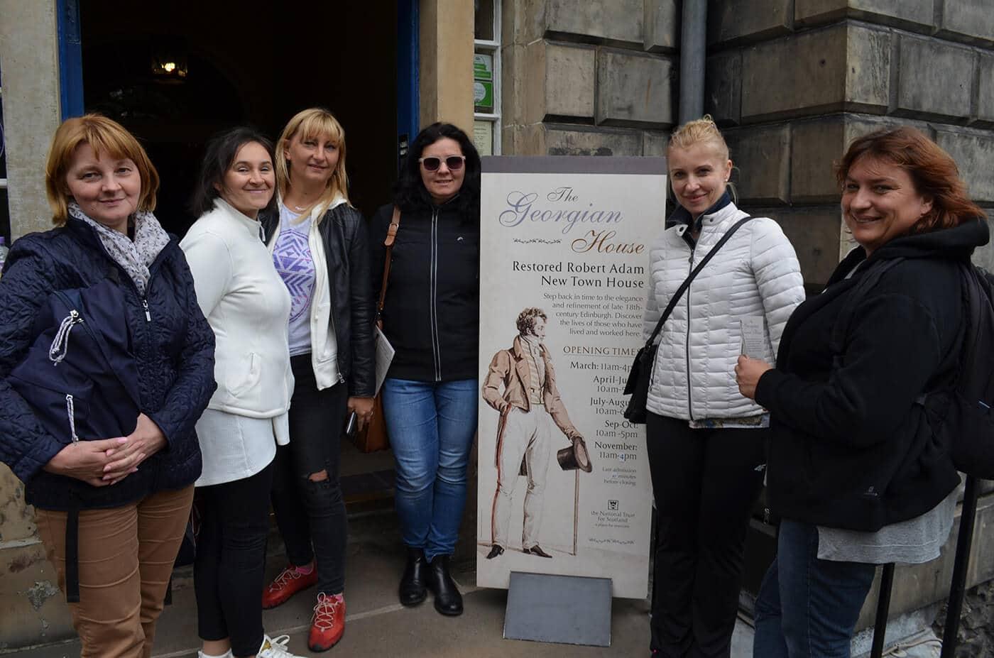 Visit the beautiful Georgian House in Edinburgh
