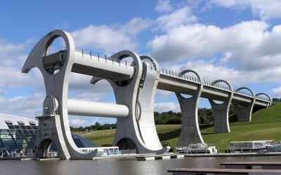 The Falkirk Wheel & The Kelpies