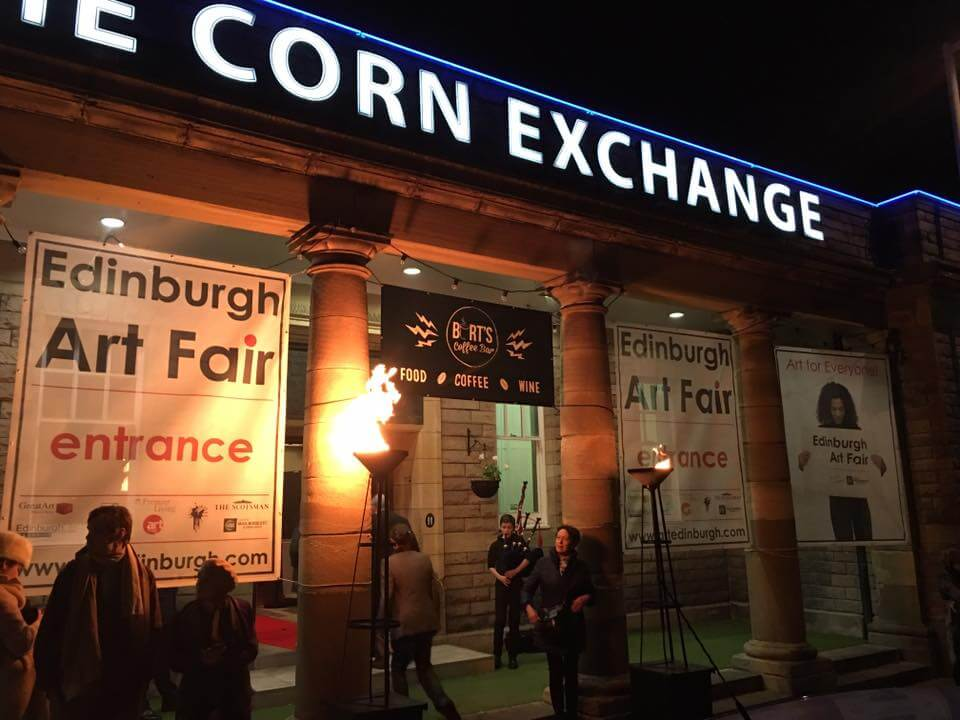Unleash Your Creative Side at the Edinburgh Art Fair!
