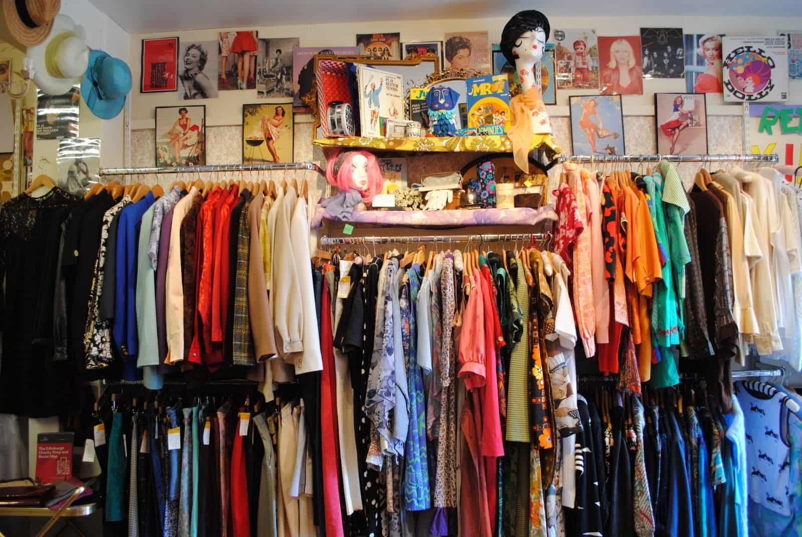 Volunteering in a charity shop:  good for your English, your CV and your community.