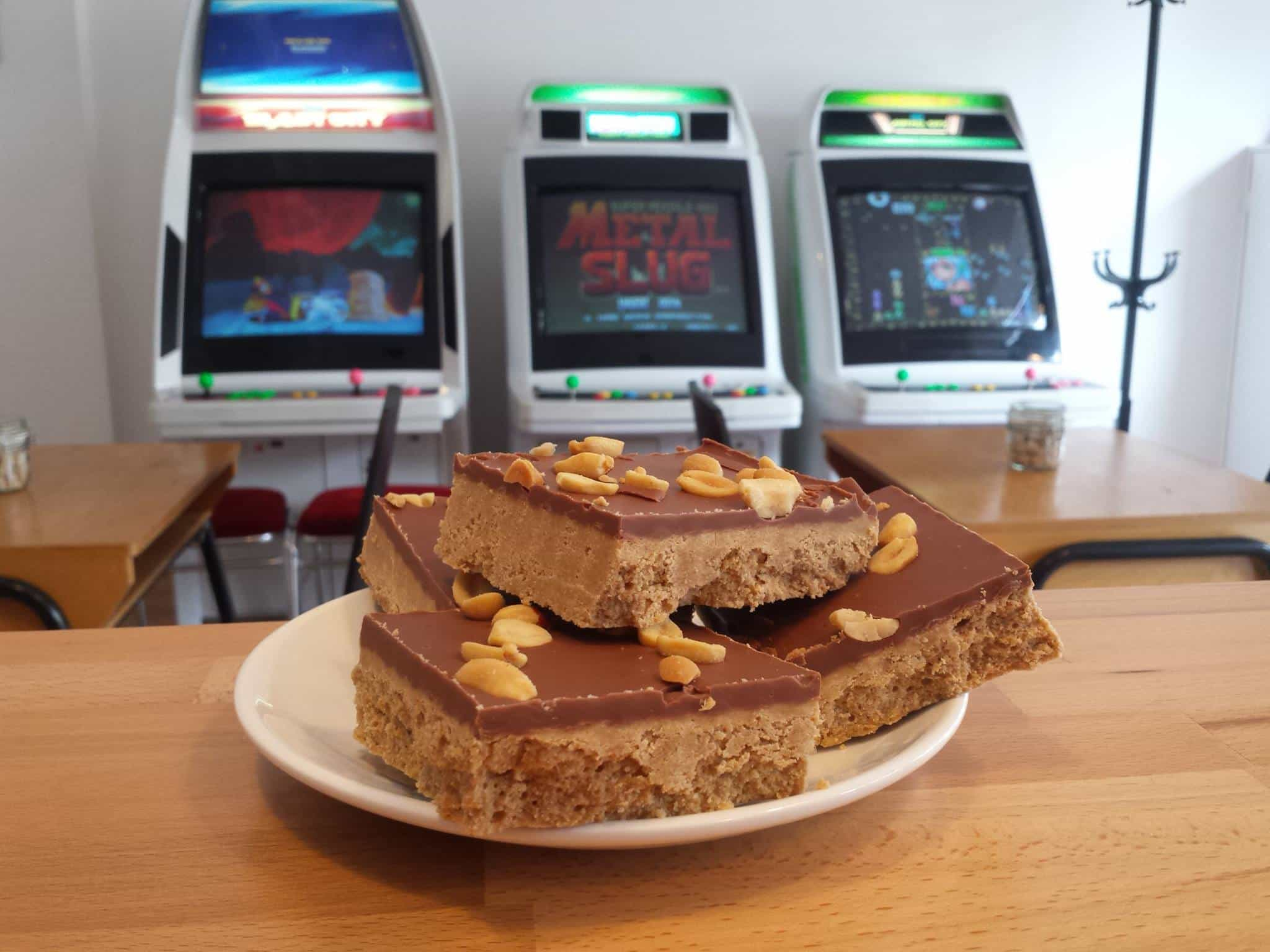 Konbo, Edinburgh's first arcade café has opened!