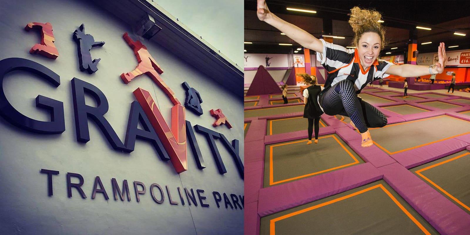GraVity Trampoline Park has opened in Edinburgh!