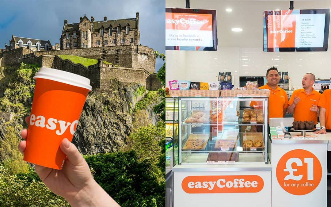 Budget coffee chain EasyCoffee opens first Edinburgh store