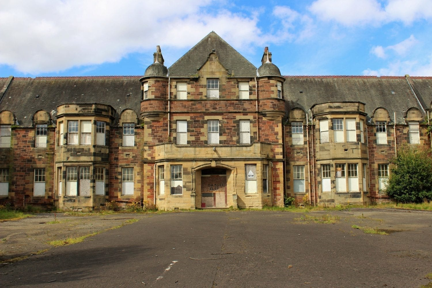 bangour village  the scottish haunted psychiatric hospital