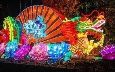 China's giant lanterns to light up Edinburgh