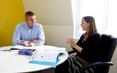 Kickstart your career by improving your business English for less than £9 per hour