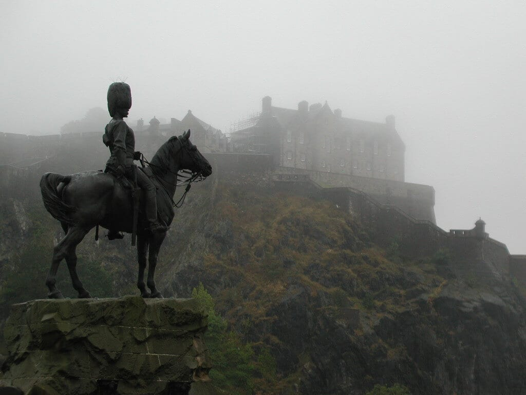 Edinburgh Castle Halloween
